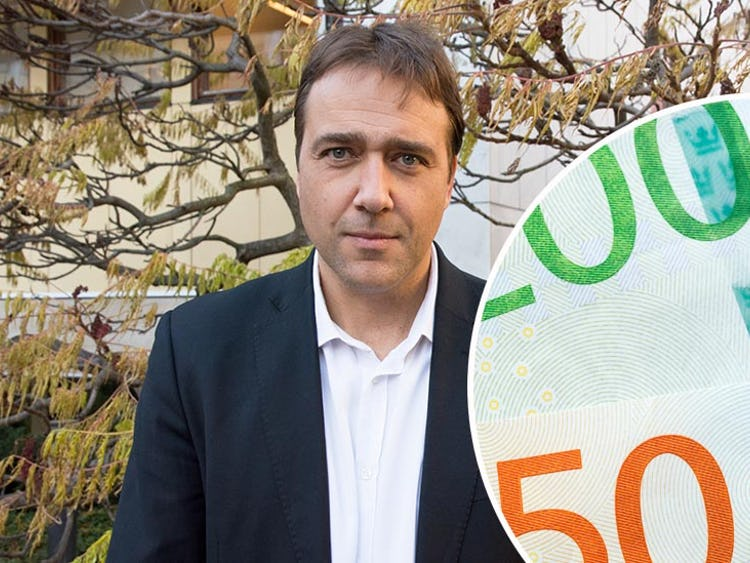 Joakim Oscarsson, ombudsman på Fastighets.