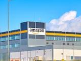 Ett Amazonlager utifrån.