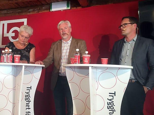 Margaretha Lööf Johansson, Torbjörn Johansson och Robert Sjunnebo.