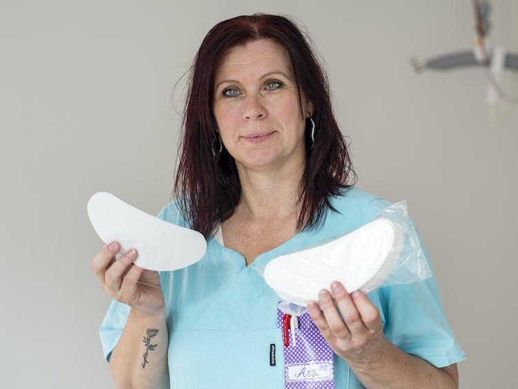 Åsa Söderlind, undersköterska.