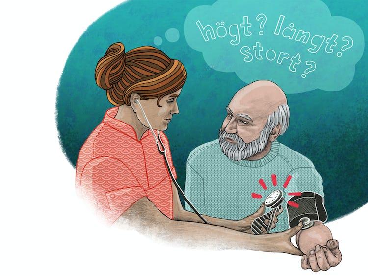 Hur ser språkkraven ut för att jobba inom vård och omsorg? undrar en blivande undersköterska.