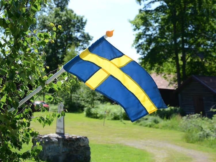 Svenska flaggans dag.