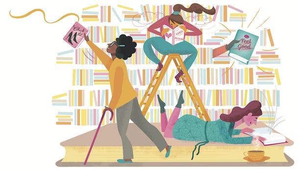 Biblioterapi.