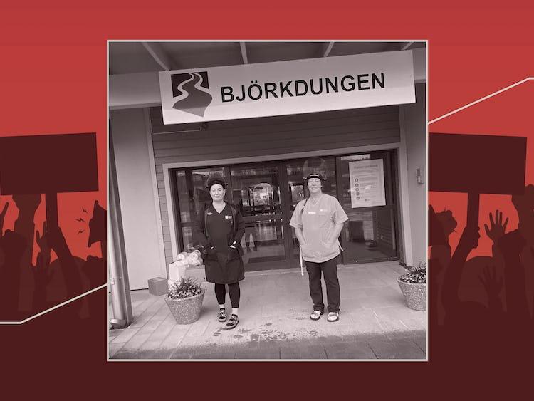 Marika Lindberg och Lena Söderberg.