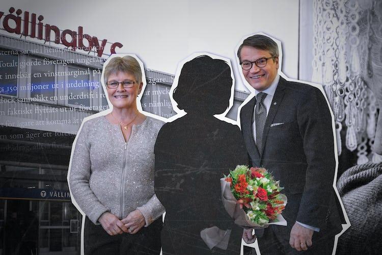 Maud Olofsson (C) och Göran Hägglund (KD) har båda poserat på bild med hemtjänstföretagaren Leyla Anabestani, som senare avslöjades som fuskare.