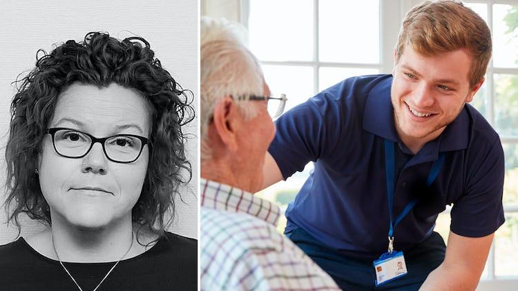 Petra Höglund, verksamhetschef på Riddarstensgården.