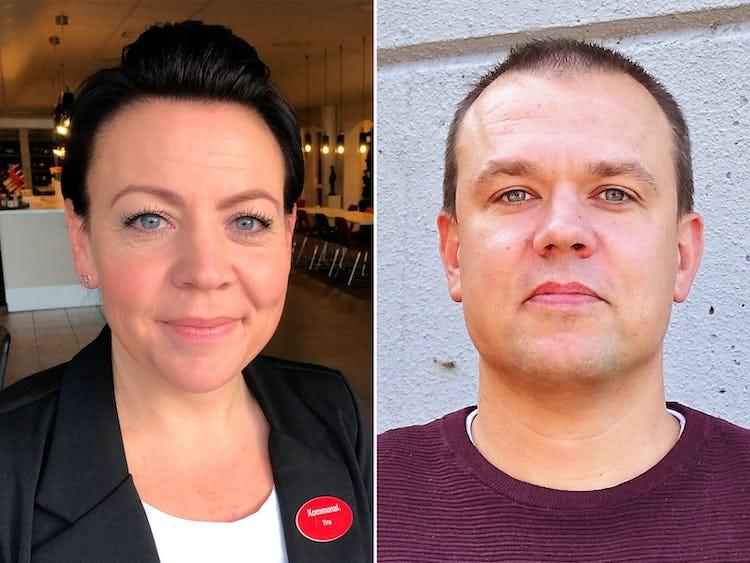 Tina Christensen och Per-Ola Nilsson.