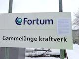 Skyddsombudstoppet finns anslaget vid infarten till kraftverket. Foto: Sven Höckert.