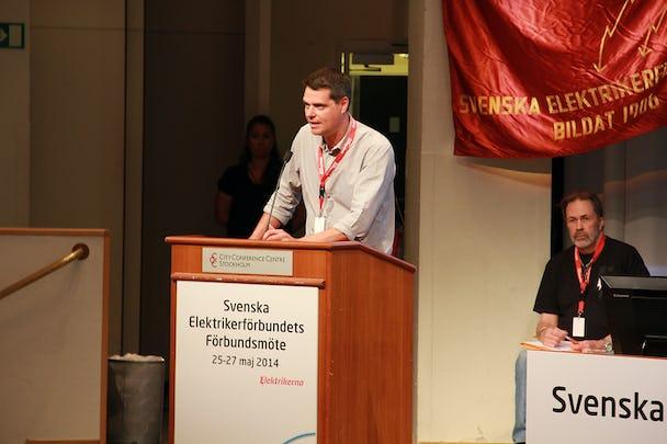 Mikael Pettersson. Foto: Eric Salomonsson