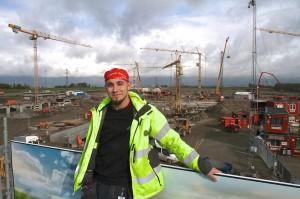 – Det var jättegivande och lärdomsrikt att åka på konferensen om asbest. Jag har fått en djuparen insikt av internationell solidaritet, säger Sebastian Brandt från Lund, som varit till Wien på en internationell konferens som internationella Bygg- och träfacket anordnade.