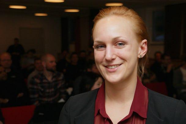 Louise Olsson. Foto: Per Eklund