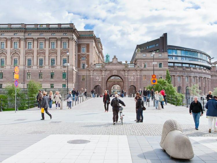 Riksdagen i Stockholm